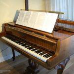 Pianonotställ